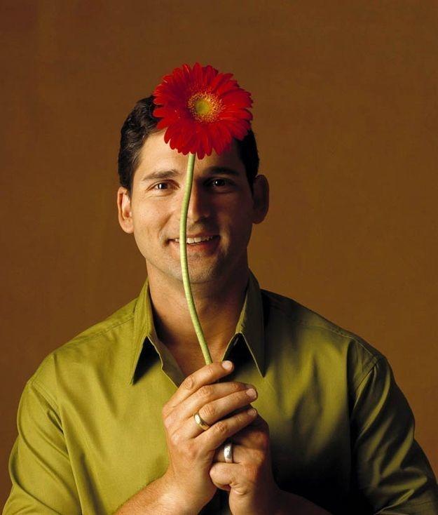 Eric Bana prefers flowers.
