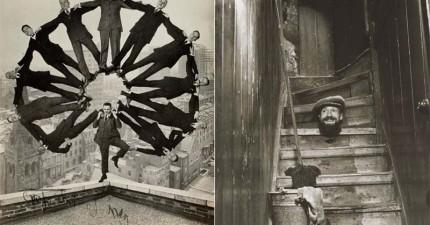 13張100年前的照片證明,當時的PS功力已經超高了!