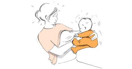 新手媽媽畫了一系列帶小孩的恐怖體驗,看完後才能了解當新生媽媽的可怕啊!