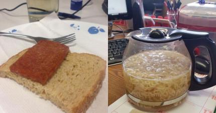 22個只有在地獄才會吃到的悲慘辦公室午餐,會讓你看到其實你每天都在吃山珍海味!