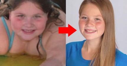 很多學生都會霸凌這位84公斤的小胖妹,直到有一天她變成了人見人愛的小美女!