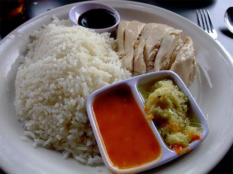 美味的海南雞飯