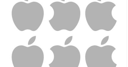 不能偷看!你能從這12個蘋果商標中挑出正確的嗎?
