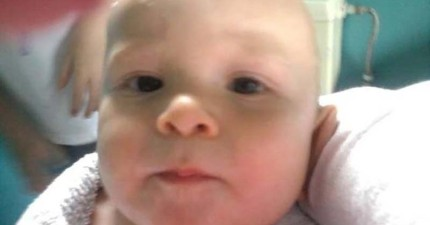 這張看似可愛的嬰兒照片...但背後故事卻會讓你毛到不行!