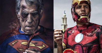15張在超級英雄們退休後、面對老化的真實模樣。看完覺得他們其實跟我們一樣啊!