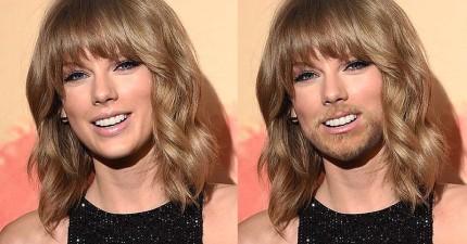 這就是你最愛的女星長鬍子的樣子!瑪丹娜妳比男人還Man了啊!