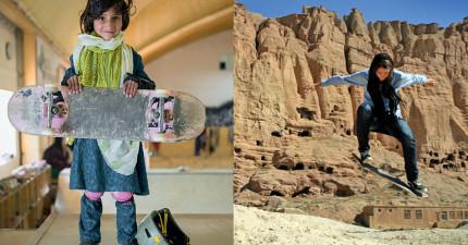 這些阿富汗女孩溜滑板的原因,會讓你知道那裡的法律有多不公平!