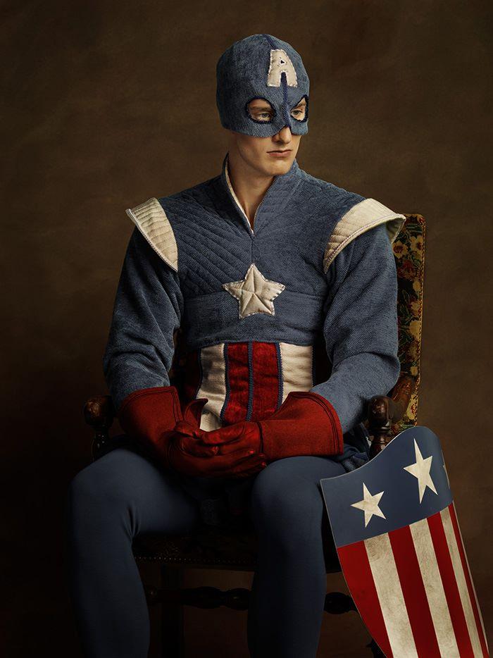 這位攝影師打造出整個「中古超級英雄」戰隊。浩克你真的別鬧了!
