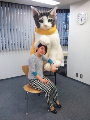 強度極強!這位羊毛氈專家做出了這個會偷走你小心臟的巨萌貓頭!