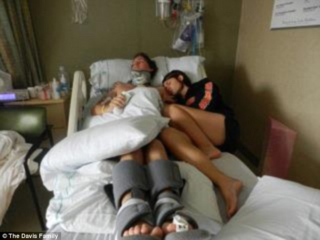 Danielle refused to give up on Brian and took him into her full time care as he was still bedridden and hooked to a feeding tube