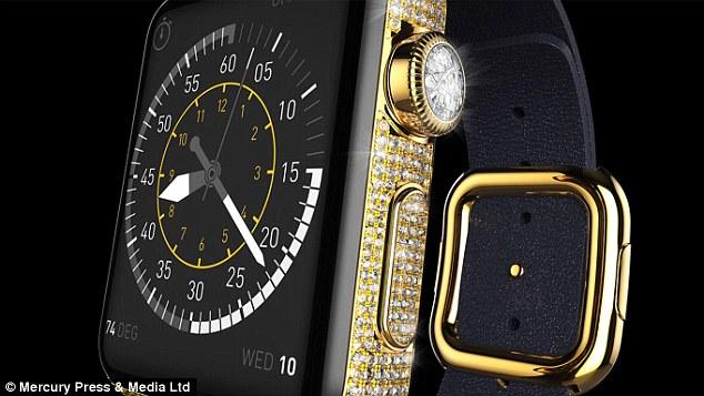 他們覺得蘋果出的37萬台幣尊爵版Apple Watch不夠猛,於是推出了要價570萬的超奢華版本...!?