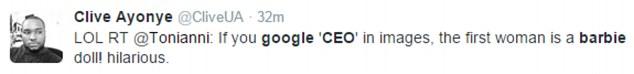 當你在Google搜尋CEO的圖片時,就會出現這個讓人會想要發飆的搜尋結果。