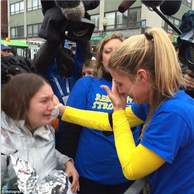 這位受害者穿著義肢重回波士頓爆炸案現場,就是要跑完比賽奪回自己的生命!