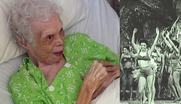 這位老奶奶到了102歲才第一次看到自己在1930年已遺失的年輕輝煌舞姿,整個人都活起來了!