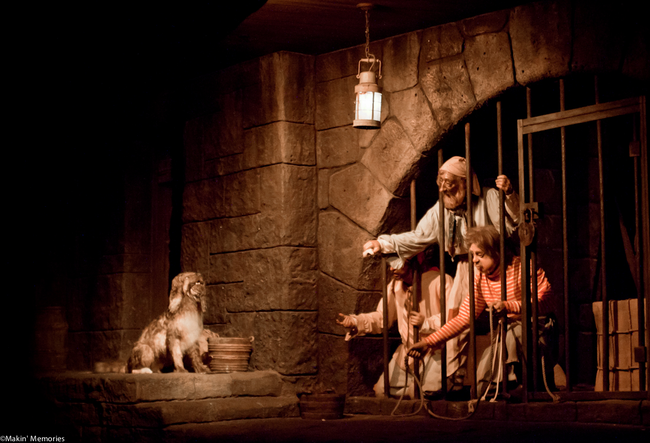 16.) The dog in the Pirates of the Caribbean ride is the same dog that is in the Carousel of Progress.