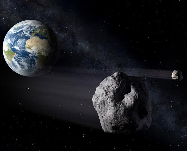 科學家表示:自由女神尺寸小行星可能在2017年撞擊地球,威力足以毀滅整個城市!