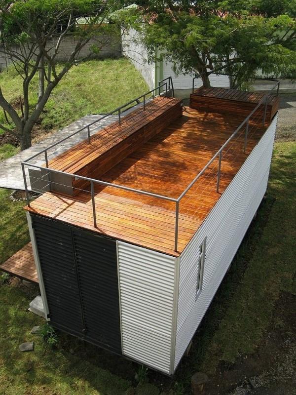 這間只有4.5坪的「變形金剛貨櫃屋」裡面隱藏著最寬敞的變形空間啊!