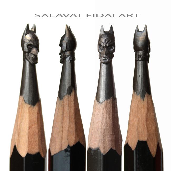 想想看筆芯有多麼細,你就會發現到這個人的藝術真的太瘋狂了!