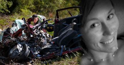 這個23歲女生撞車身亡前在FB上發的諷刺短訊就是給全世界所有人的警惕。