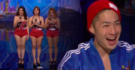 當這3個漂亮女生開口唱歌時,你也會像吳建豪一樣整個被驚呆!