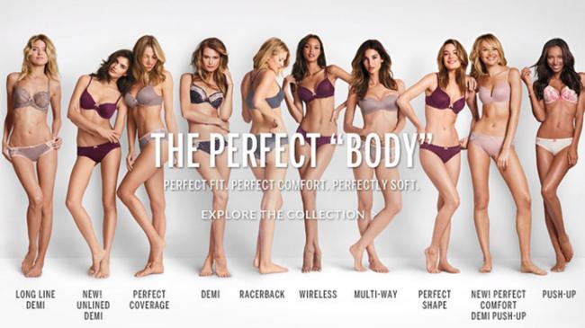 厭倦了超模「完美的」纖細身材,這家內衣公司用最新的廣告狠狠打知名內衣品牌的臉!