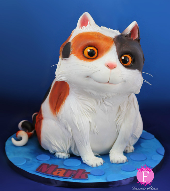 11個會讓你永遠捨不得吃的超可愛卡通人物杯子蛋糕。