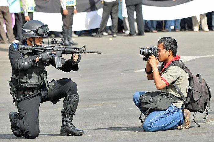 Crazy Photographer