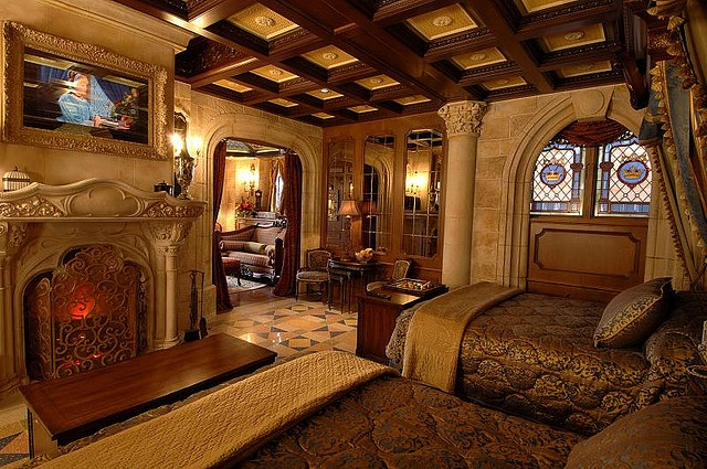There is a suite in Cinderella's Castle that can't be booked and you can only stay there if you win a contest.