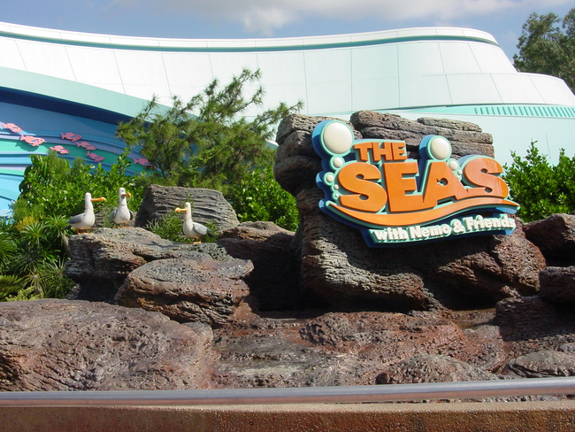 The Seas Aquarium in Epcot is the second largest aquarium in the US. It uses 5.7 million gallons of water.