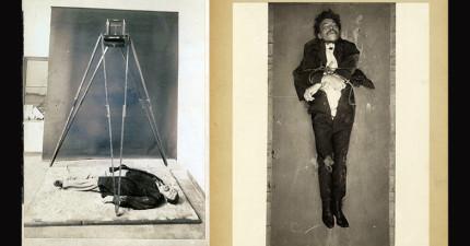 11張法國巴黎警察私藏的古老「犯罪現場」秘照。