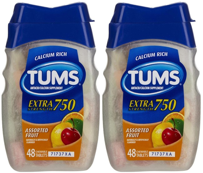 Putting a Tums on a painful mouth ulcer can make it go away faster.