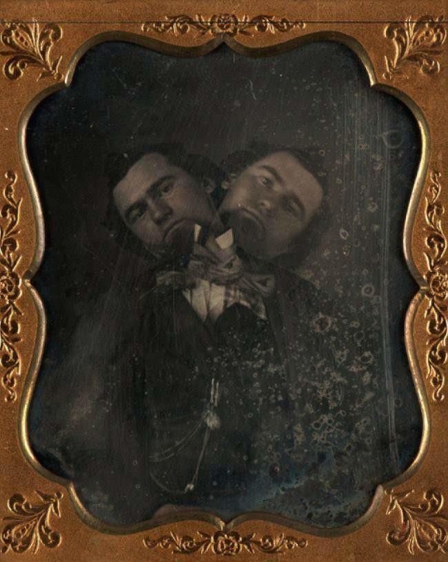 <i>Two Headed Man</i>, ca. 1855