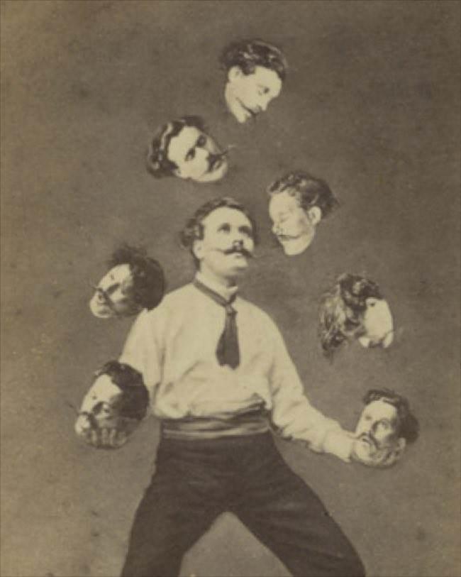 <i>Man Juggling his Own Head</i>, ca. 1880