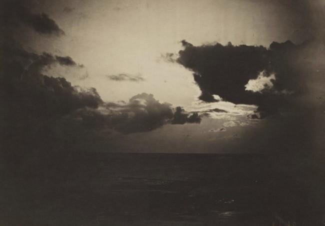 <i>Cloud Study, Light-Dark</i>, Gustave Le Gray, 1856