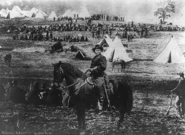 <i>General Grant at City Point</i>, Levin Corbin, ca. 1902