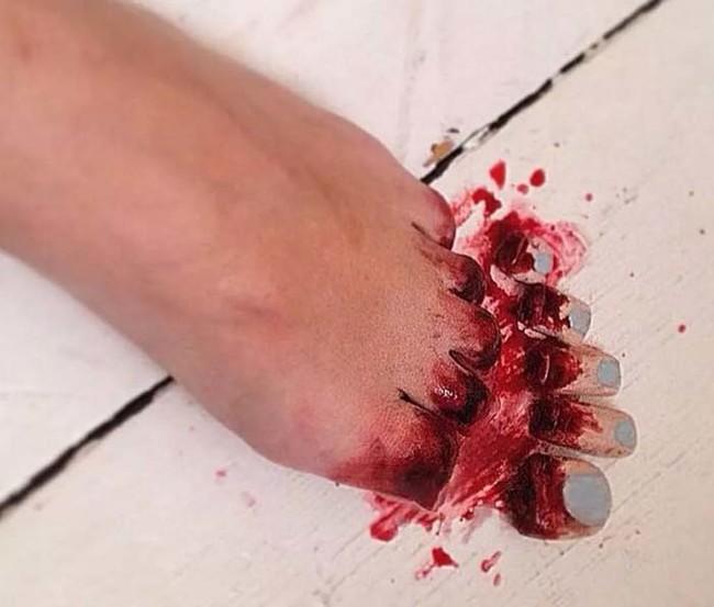 這位特效化妝師巧手下的日常超痛恐怖意外,會讓你胃酸直飆喉嚨!