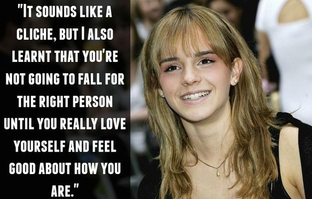 On falling in love: