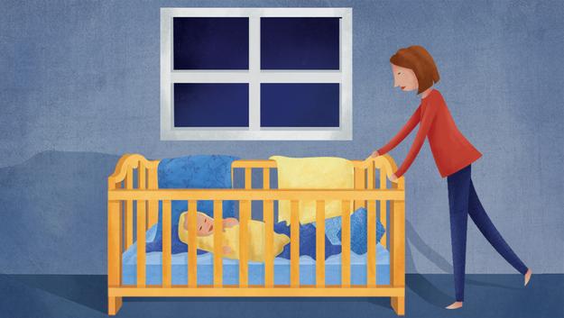 這就是為什麼你的小寶寶半夜不睡覺一直吵你的科學原因