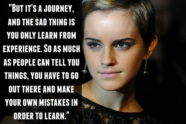 On learning from your mistakes: