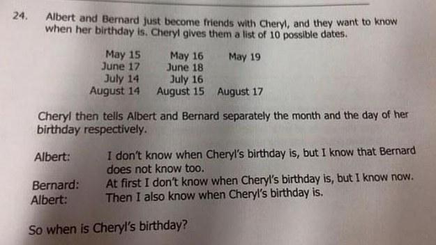 你有辦法破解這個難倒眾生的「新加坡中學生」考題嗎?據說能解答的人就是天才!