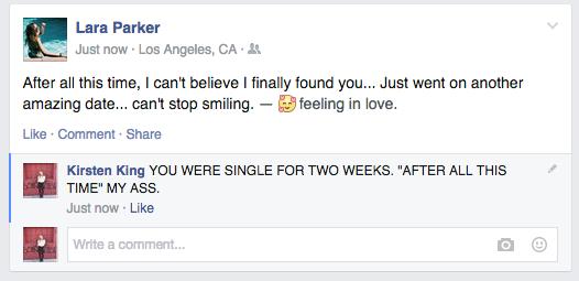 如果單身的人都很誠實更新Facebook的話,結果讓我快哭出來了...