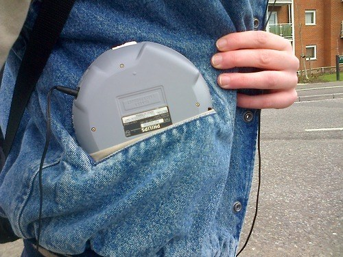 When you finally got your CD Walkman and realized it didn't fit in any of your pockets.