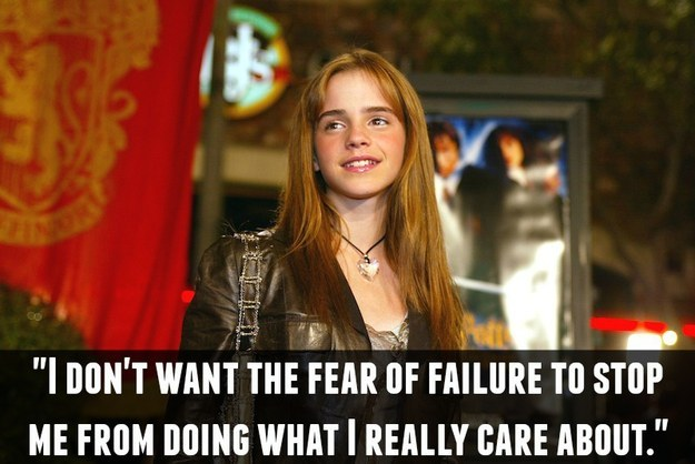 On the acceptance of failure: