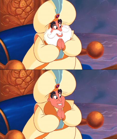 7個鬍子被修掉的迪士尼男人證明沒有鬍子會讓人直接噴飯!