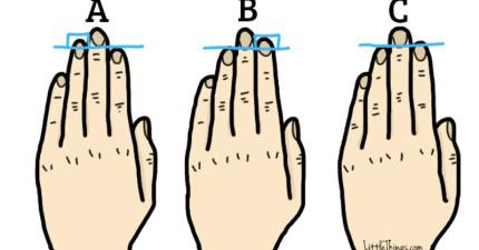 牛津期刊研究:看食指與無名指之間的長度,就能看出你是哪種人!