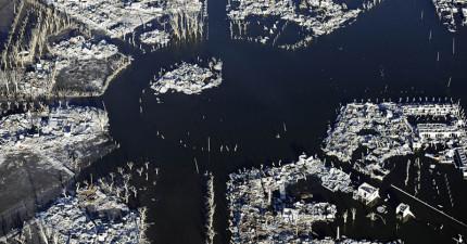 這座小鎮有25年的時間都在湖底下。這就是現代的亞特蘭斯!