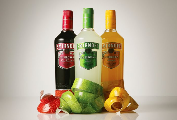 Smirnoff Fruity Peel-Off Vodka