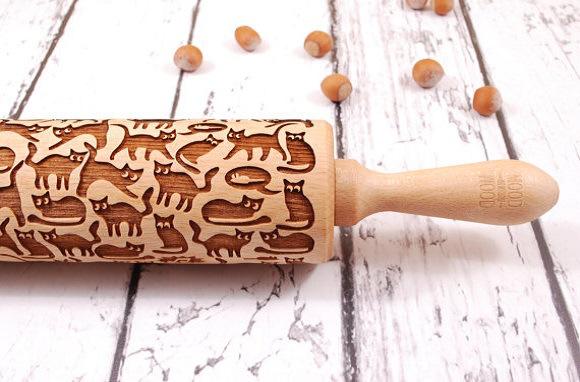 用這支超「卡哇伊」的擀麵棍,擀出來的成品連不愛烘焙的人都會馬上愛上!