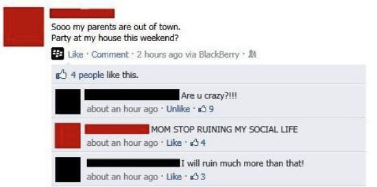 19張照片說明了...把爸媽加為臉書好友之前應該要先三思!