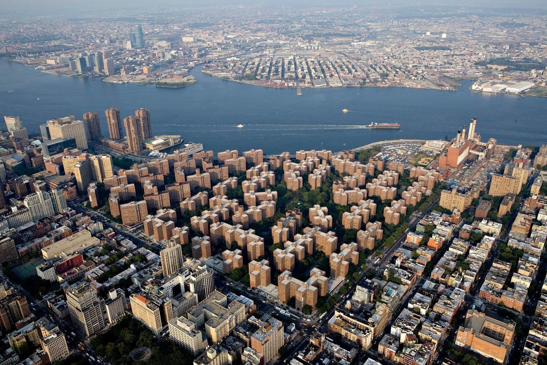 Stuyvesant Town, Manhattan's largest apartment complex.